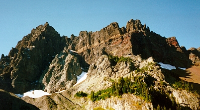 Three Fingered Jack's North Face